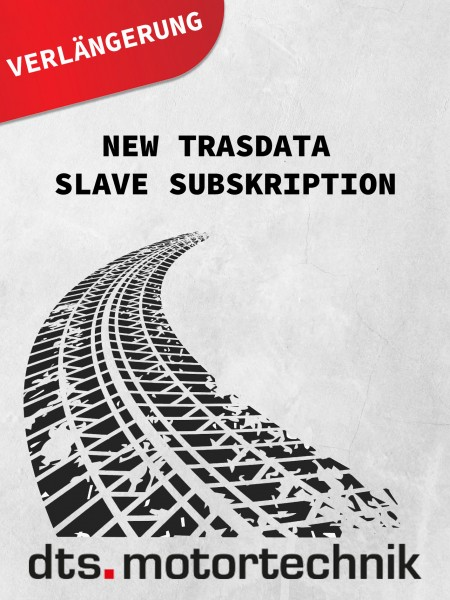 NEW TRASDATA SLAVE SUBSCRIPTION FOR CPU ALREADY ENABLED (1 YEAR)