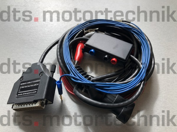 FCA (FIAT/CHRYSLER group): 3 pin diagnostic connector