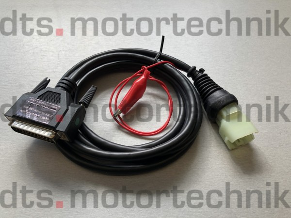 KTM 6 pin diagnostic connector for Keihin ECUs