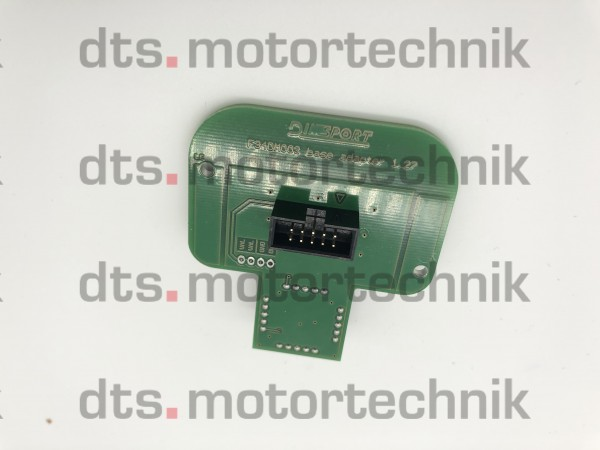 BASE BOARD for F34DM004 (SIEMENS 1.27), F34DM005 (MARELLI 1.27) and F34DM008 (BOSCH 1.27) terminal adapters